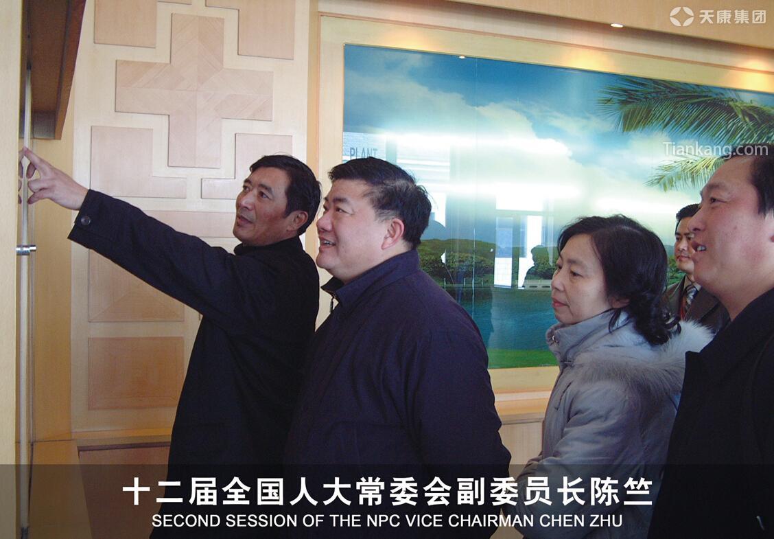 十二届全国人大常委会副委员长陈竺