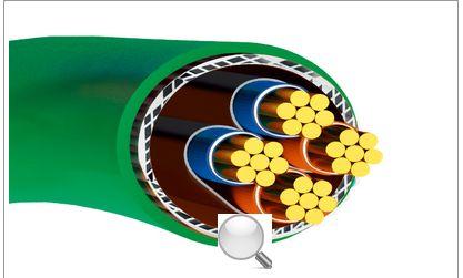 矿用阻燃控制软电缆