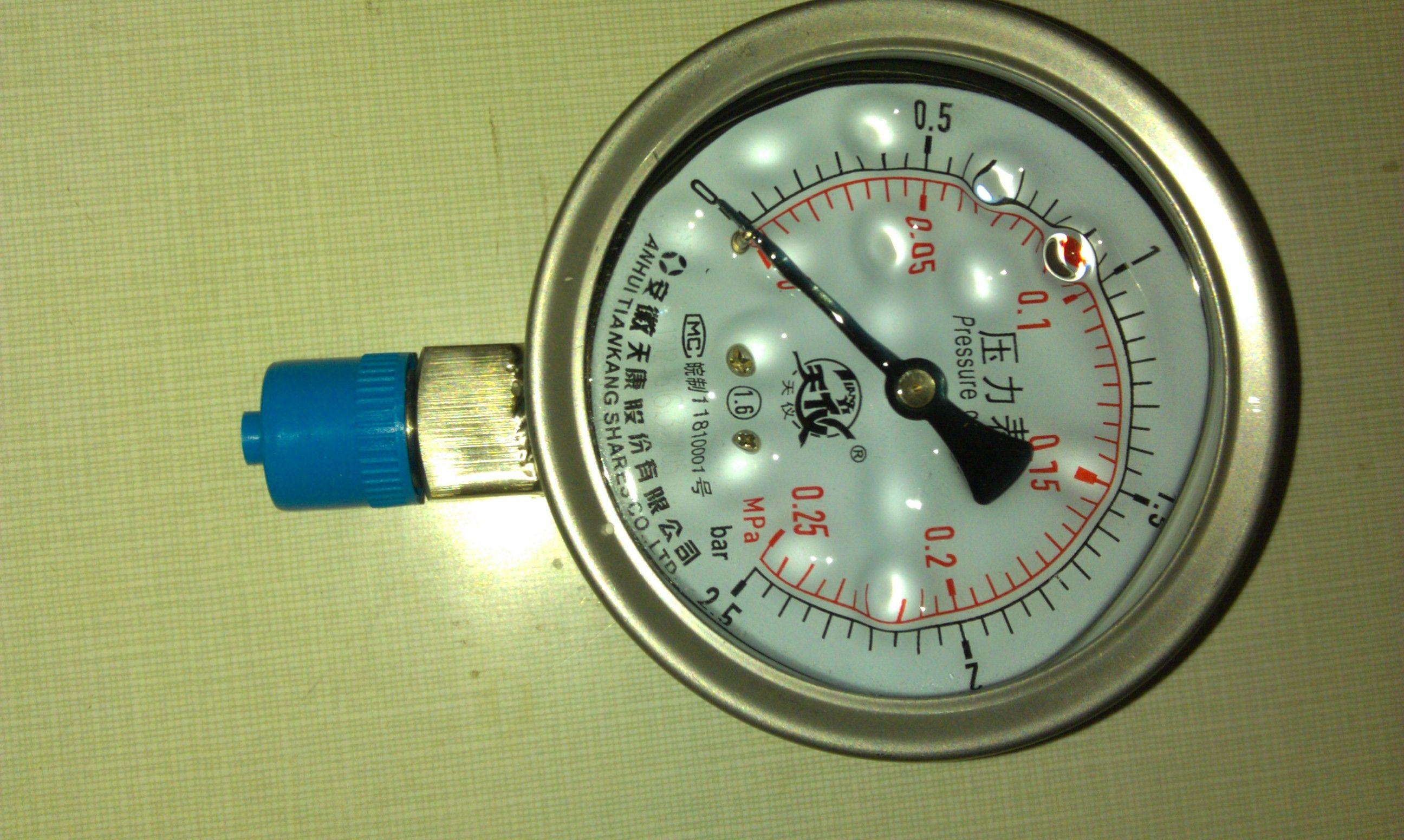 天康不锈钢压力表